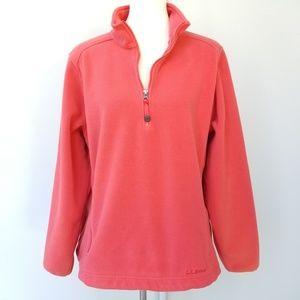 LL Bean Womens Heavy Duty Warm Fleece XL